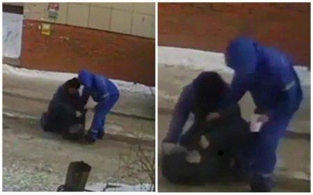 Медработники избили прохожего на улице в Павлодаре