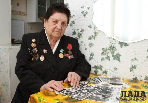 В Актау умерла ветеран войны Анна Григорьевна Морозова