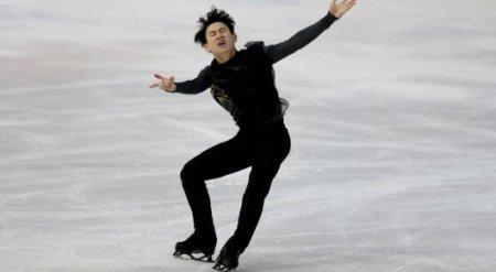 Денис Тен откатал короткую программу на Олимпиаде-2018 в Корее