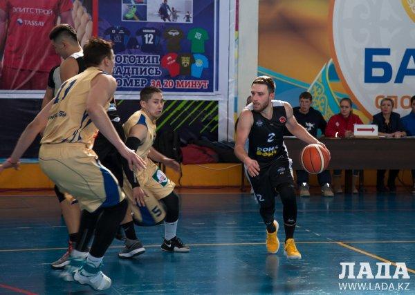Баскетбольный клуб «Каспий» одержал две победы над «Тоболом» из Костаная