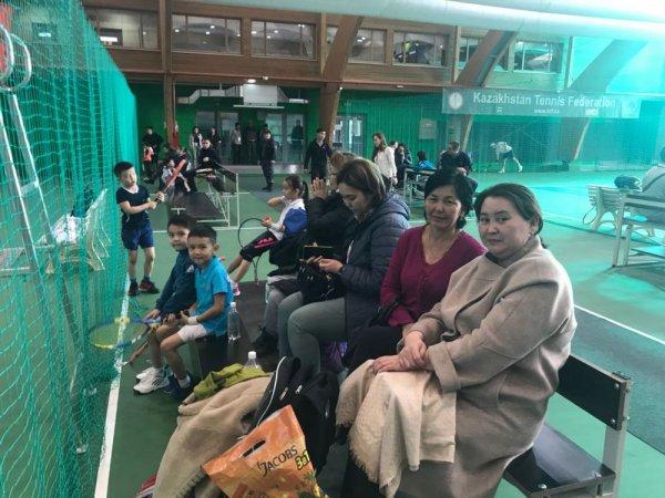 Теннисисты из Актау стали призерами республиканского турнира в Шымкенте