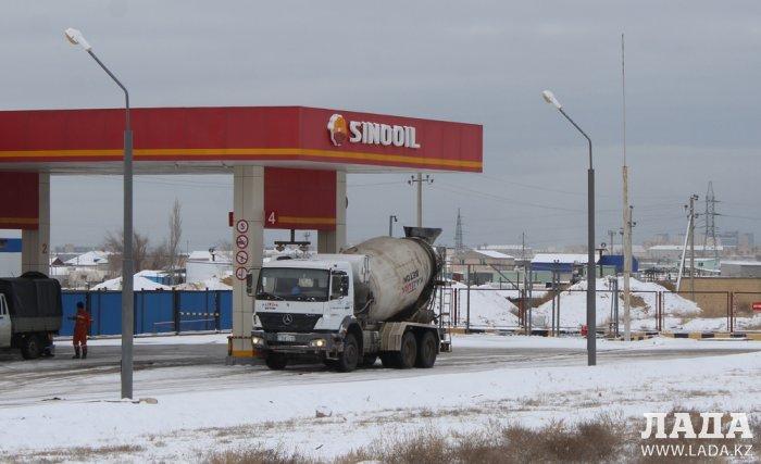 Обзор ситуации на автозаправках Актау 20 февраля