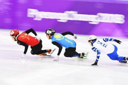 Казахстанские шорт-трекисты пробились в четвертьфинал Олимпиады-2018