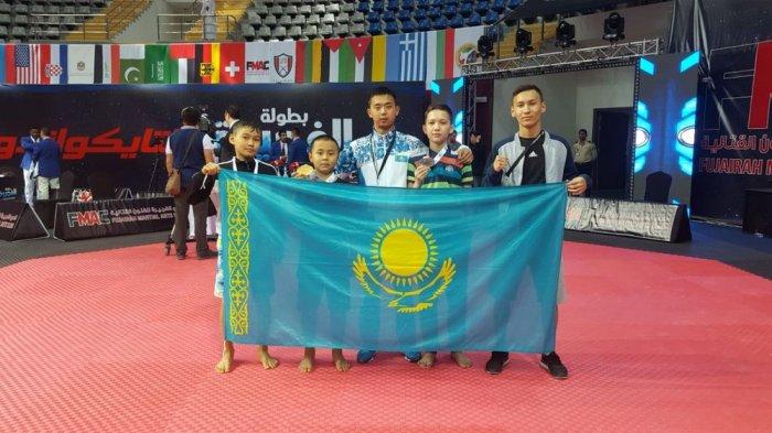 Таеквондист Ерасыл Балкожа из Актау победил в международном турнире Fujairah Open