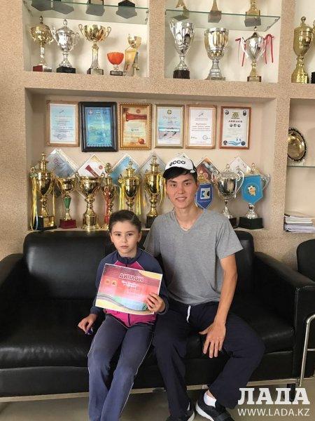 Юная теннисистка из Актау стала серебряным призером турнира в Уральске