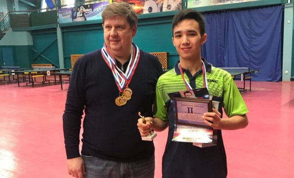 Теннисисты из Актау завоевали три медали на международном турнире «Европа-Азия»