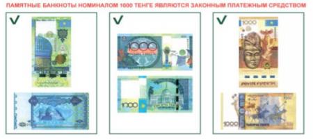 """За отказ в приеме купюры """"Күлтегін"""" привлекли аптеку в Алматы"""