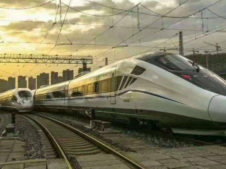 Поезд с максимальной скоростью 400 километров в час разрабатывается в Китае