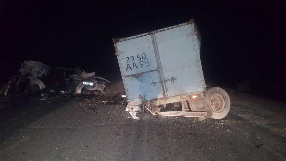 В ДВД Мангистау опровергли слухи о смертельном ДТП на трассе Актау-Бейнеу