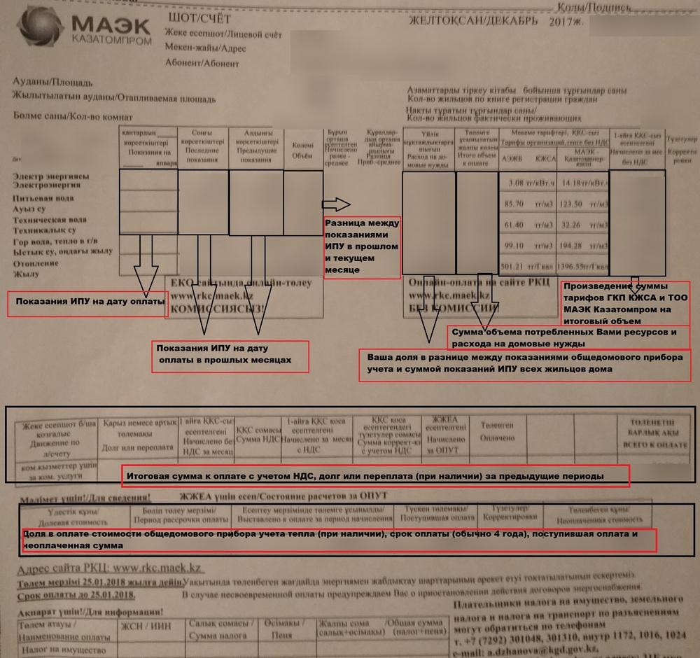 ТОО «МАЭК-Казатомпром» о расходах на общедомовые нужды: Способ оплаты жильцы могут определить самостоятельно