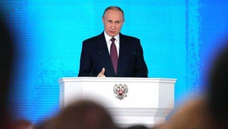 Об уникальном беспилотнике и испытании ядерной ракеты рассказал Путин
