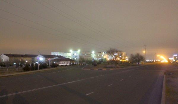Водители Актау пожаловались на темные дороги