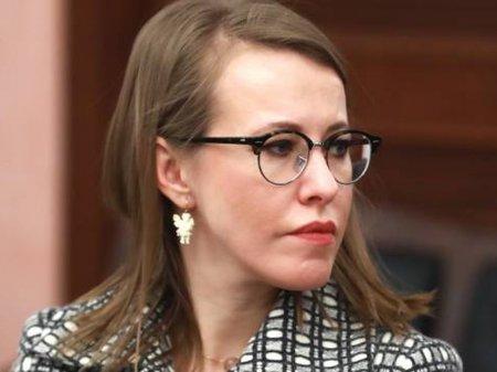 Ксению Собчак облили жидкостью в отместку за Жириновского