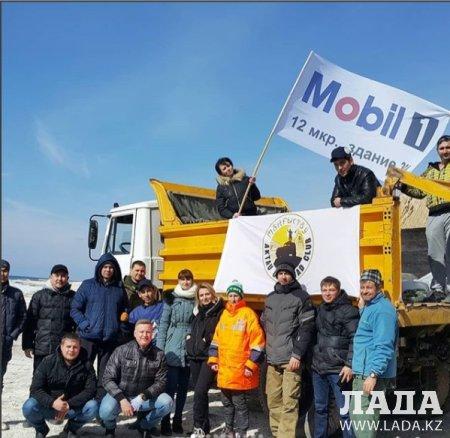 Aktau off road club собрали 500 мешков мусора во время акции «Чистый берег»
