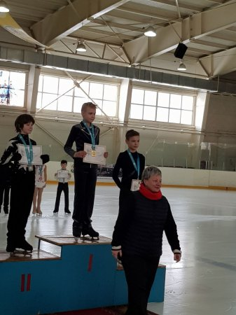 Алексей Ветров из Актау завоевал бронзовую медаль на чемпионате Казахстана по фигурному катанию