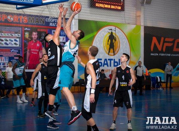 Баскетболисты «Каспия» уступили столичной команде
