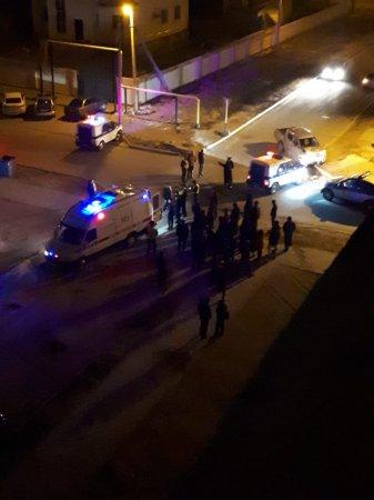 В сети появилось видео ночной погони актауских полицейских за автомобилем