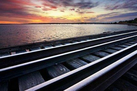 Китай планирует построить железную дорогу на судах через Актау или Атырау в Азербайджан