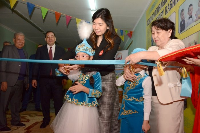 В Актау открыли кабинет психолого-педагогической коррекции