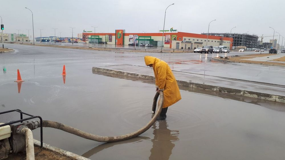 ТОО «Кала Жолдары»: Работы по откачке дождевой воды ведутся в плановом режиме