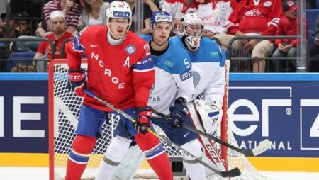 Сборная юниоров Казахстана разгромила Норвегию на чемпионате мира по хоккею