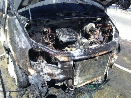 В 22 микрорайоне Актау сгорела «ГАЗель»