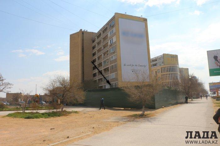 Жители 6 микрорайона Актау выступили против строительства пятиэтажного бизнес-центра у дома №38