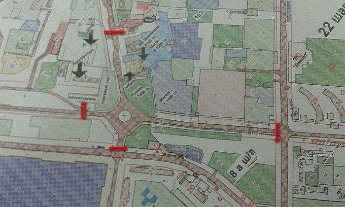 В Актау перекроют участок дороги у рынка «РусКаз» в 23 микрорайоне