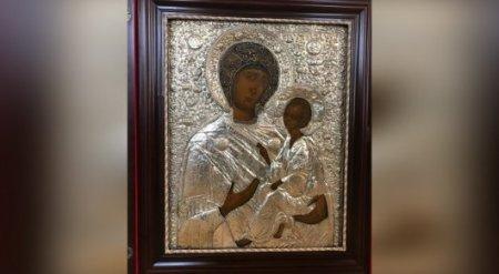 Назарбаев передал православным Казахстана Тихвинскую икону Божией Матери