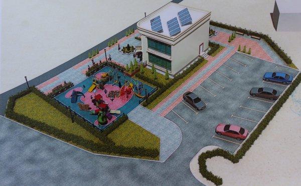 Жители 11 микрорайона Актау возмутились строительством двухэтажного здания у дома №8