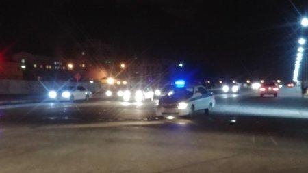 ДТП с автомобилем полиции