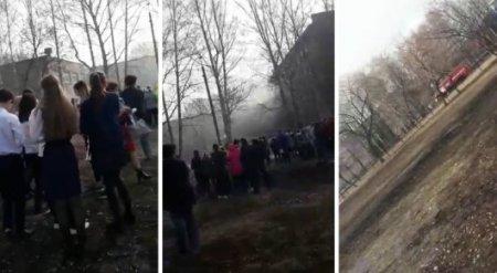 Ученик напал с ножом на сверстников и поджег школу в Башкирии - СМИ