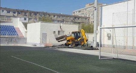Какие изменения ждут футбольное поле на стадионе «Жас Канат» в Актау