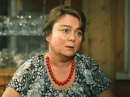 Скончалась известная актриса Нина Дорошина