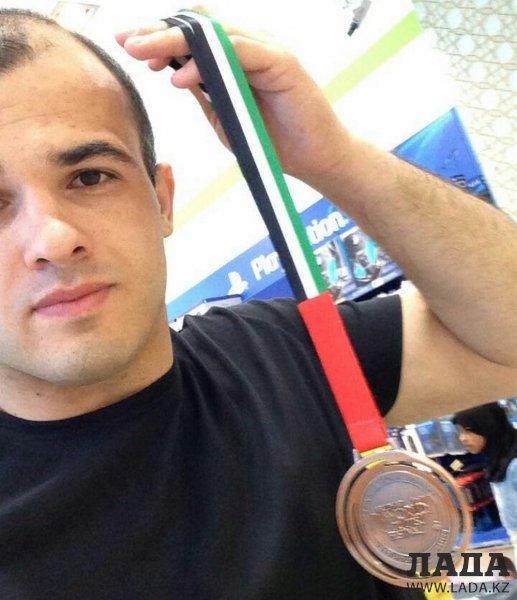 Роман Ахмедханов из Актау стал бронзовым призером чемпионата по джиу-джитсу в Абу-Даби
