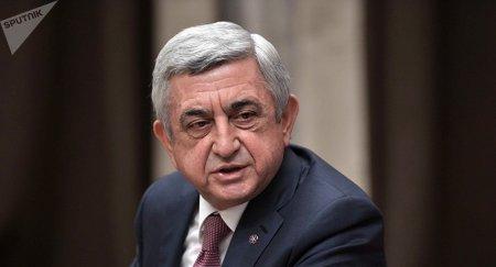 Я ошибся - премьер Армении Серж Саргсян ушел в отставку