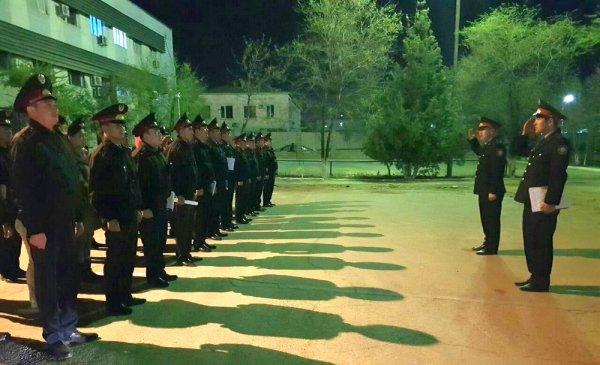 В ходе ОПМ «Дети в ночном городе» в УВД Актау доставили 45 человек