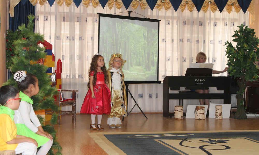 Экологическое шоу «Береги свою планету!» в детском саду № 29 Актау