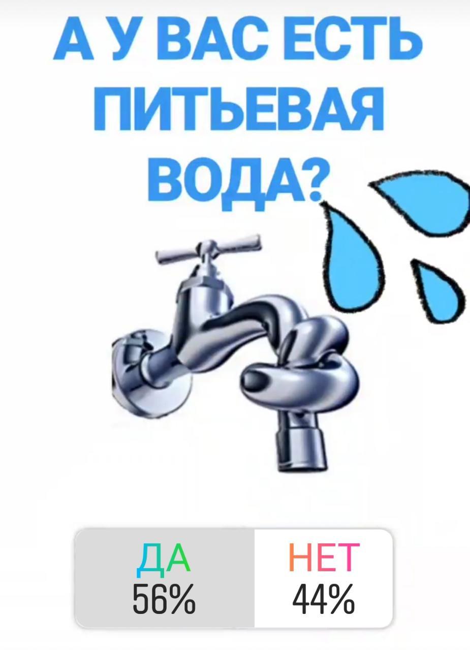 Жители Актау массово пожаловались на отсутствие питьевой воды