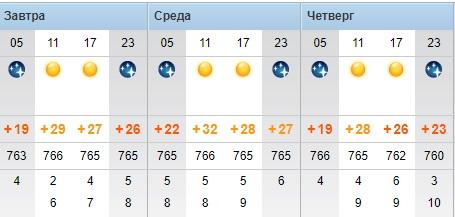 Повышение температуры воздуха до +32°С прогнозируют синоптики в Актау
