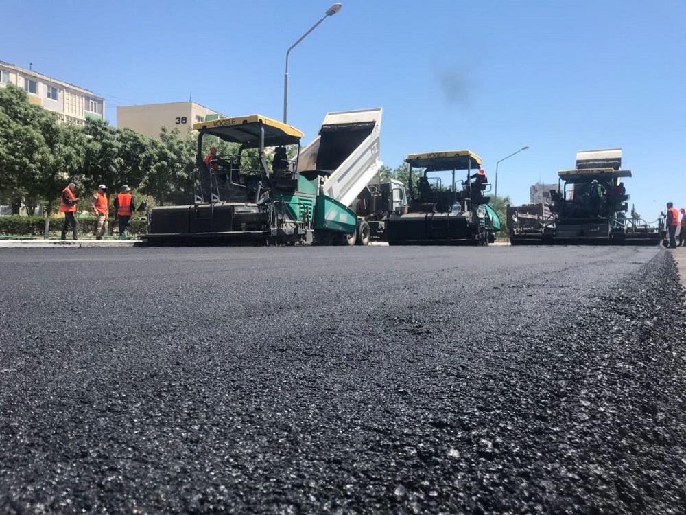 В акимате Актау предупредили о закрытии участка центральной дороги