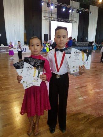 Танцоры из Актау стали призерами международного турнира по бальным танцам