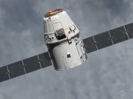 Мыши и другой груз успешно вернулись на Землю на грузовой капсуле SpaceX Dragon