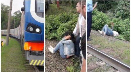 Девушка пыталась броситься под поезд в Алматы: в КТЖ рассказали подробности