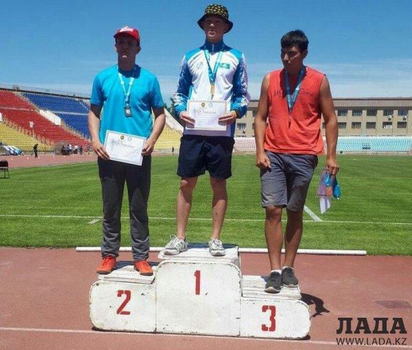 Легкоатлеты из Актау завоевали шесть медалей на республиканских соревнованиях