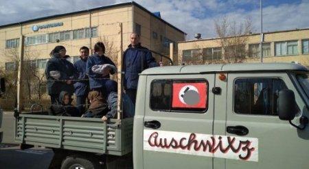 Авто со свастикой на 9 Мая в Лисаковске объяснили организаторы