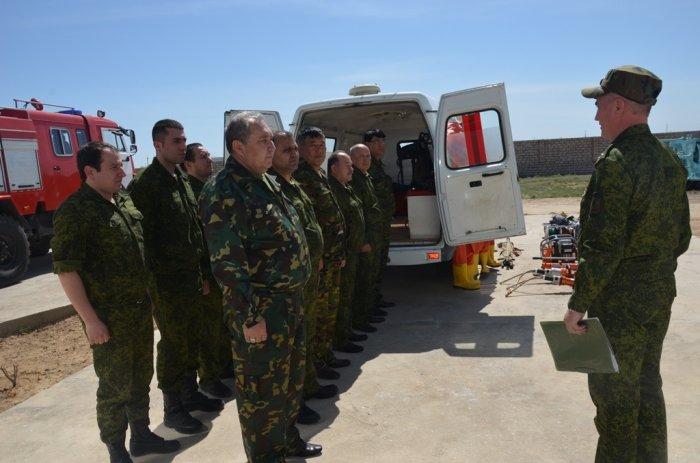 Пожарный пост открыли в селе Мангыстау-4