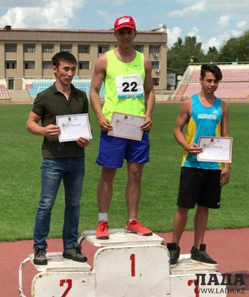 Легкоатлеты из Актау завоевали семь медалей на республиканских соревнованиях