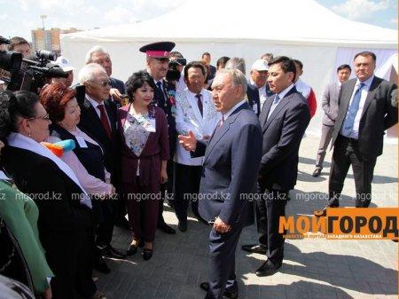 Самым чистым городом Казахстана Президент назвал Уральск