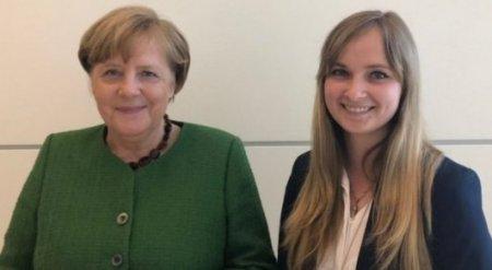 """""""Никакого блата"""". Студентка из Казахстана запросто пообщалась с Ангелой Меркель"""